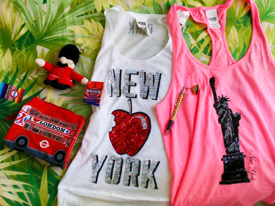 souvenir shopping from london and victoria's secret new york