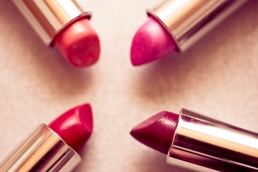 Beautiful lipsticks -the make-up series