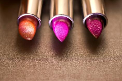 Beautiful lipsticks -the make-up series