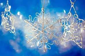 beautiful shining Christmas ornaments
