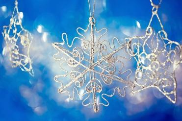 beautiful shining Christmas ornaments