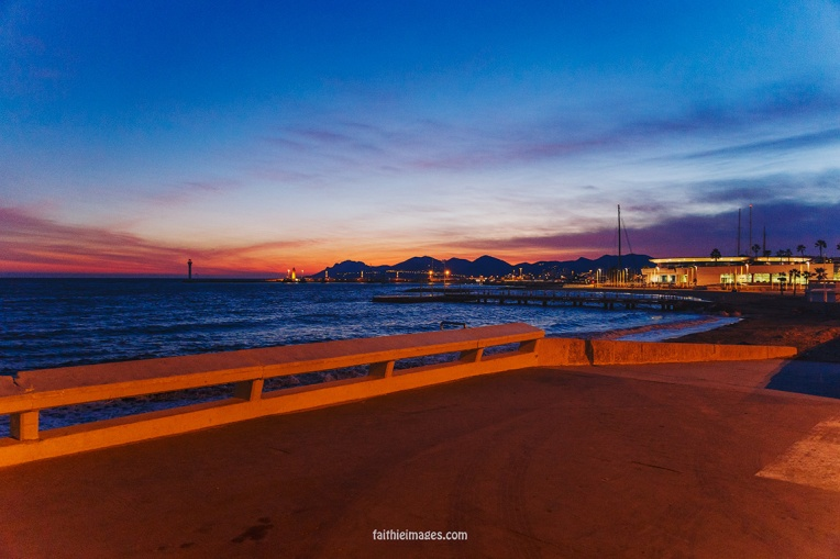 Croisette Sunset by Faithieimages