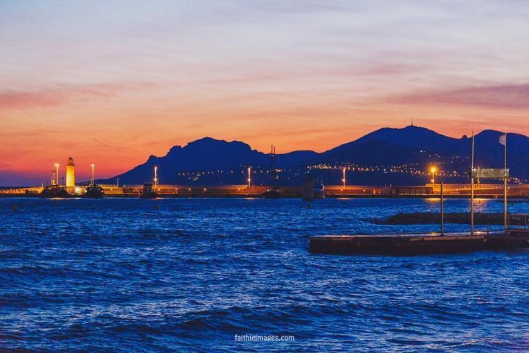 Croisette Sunset by Faithieimages