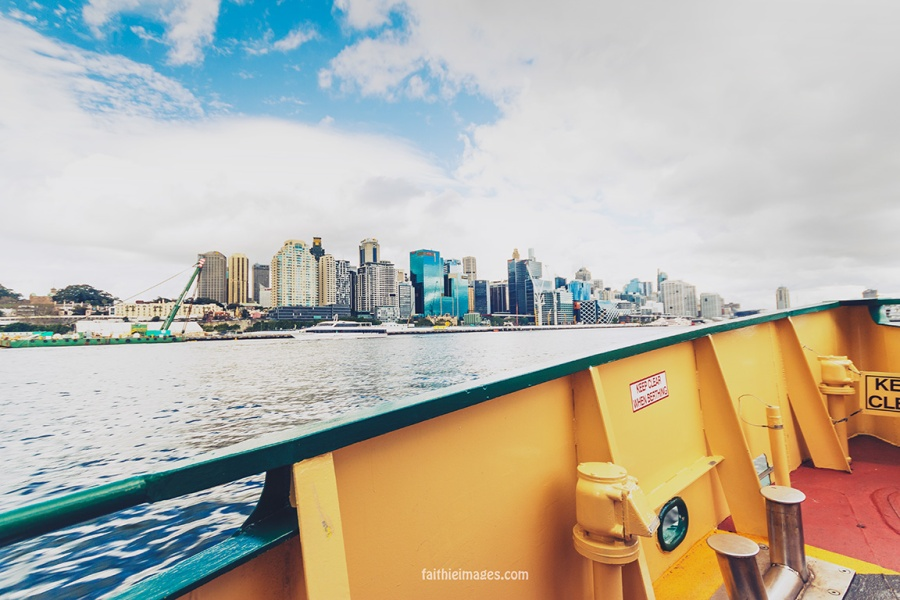Sydney Harbour ferry ride by Faithieimages 17