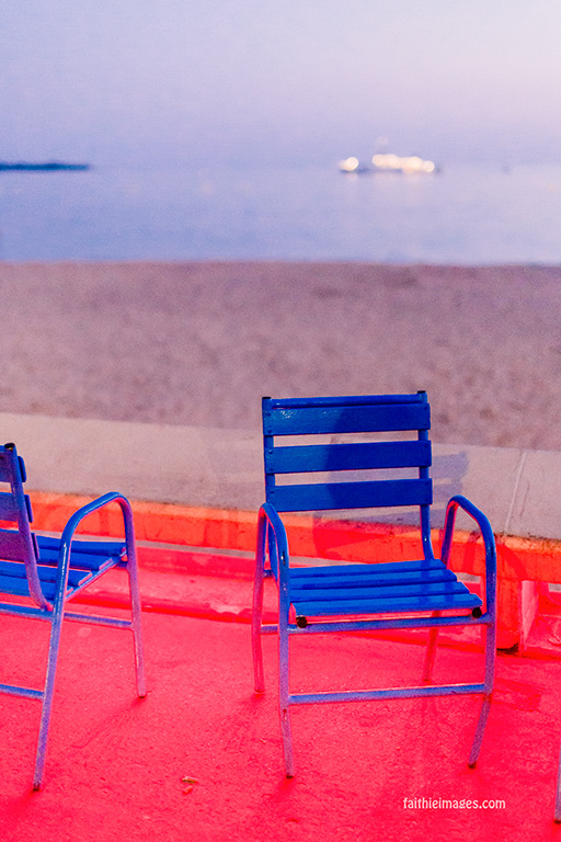 The blue chairs by Faithieimages 05