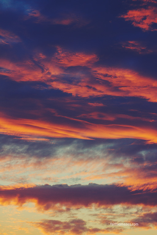 Upside down sunset by Faithieimages 06