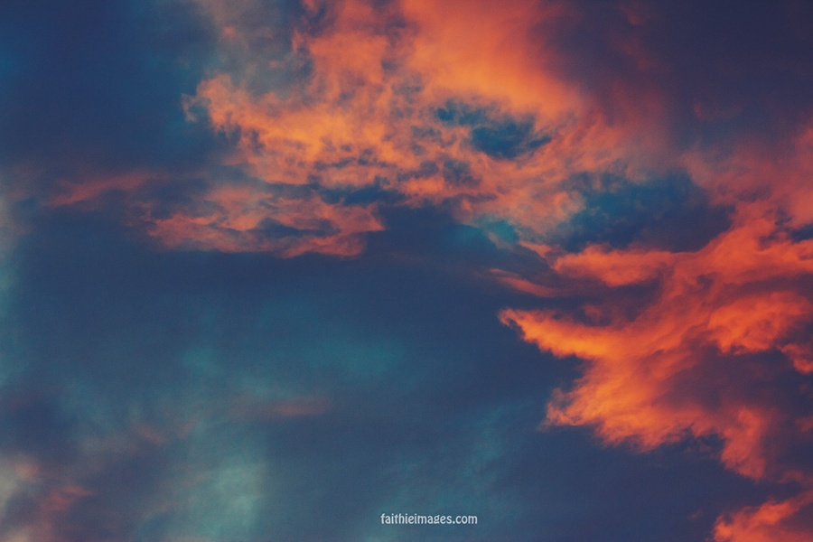 Upside down sunset by Faithieimages 07