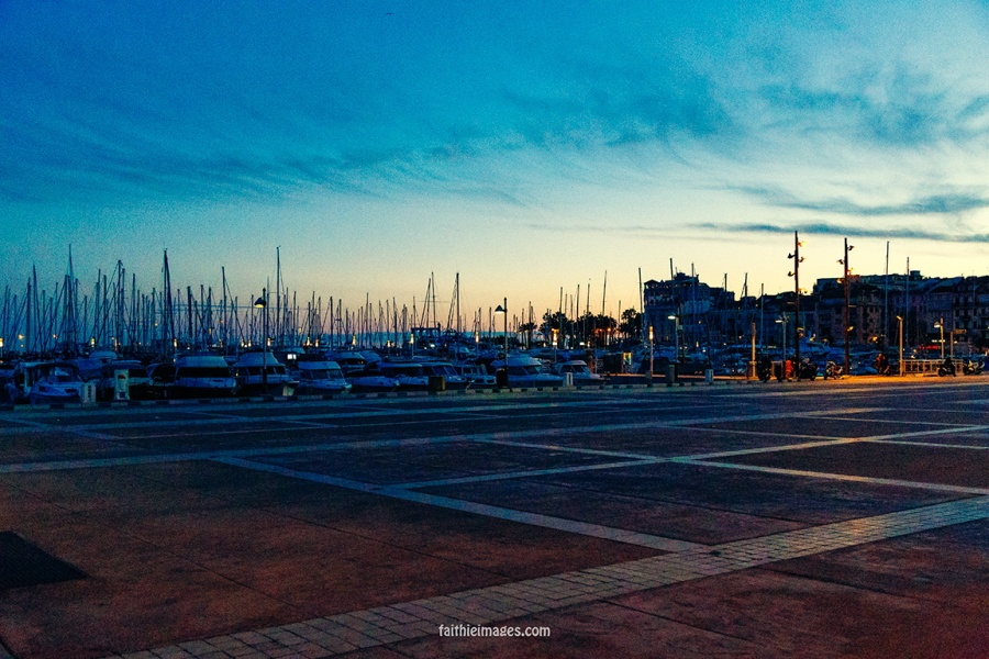 Harbour dusk by Faithieimages 02