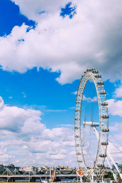 London Eye and Big Ben by Faithieimages 07