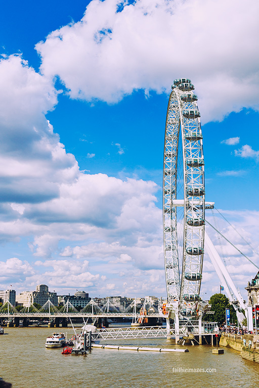 London Eye and Big Ben by Faithieimages 09