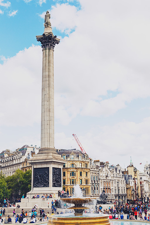 Trafalgar Square National Gallery by Faithieimages 01