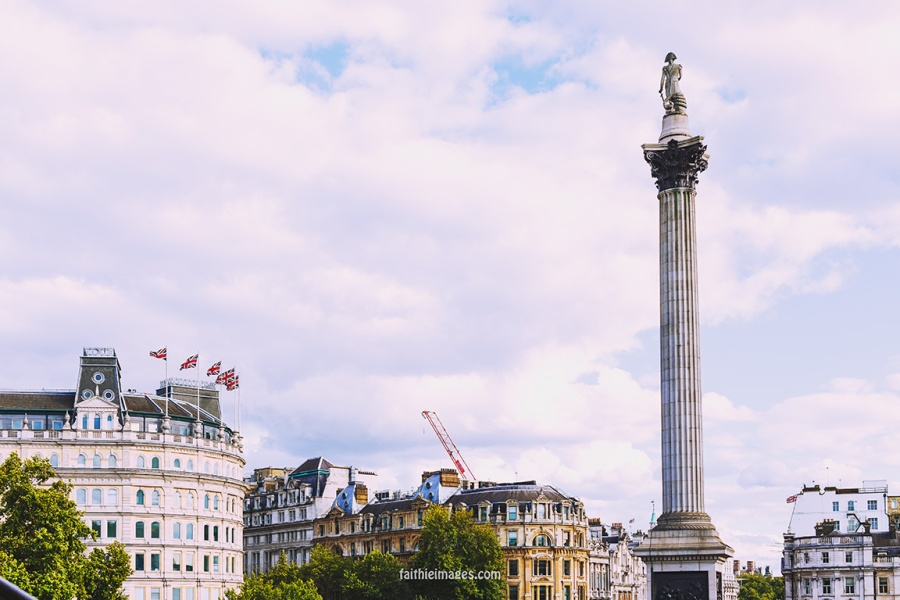 Trafalgar Square National Gallery by Faithieimages 07