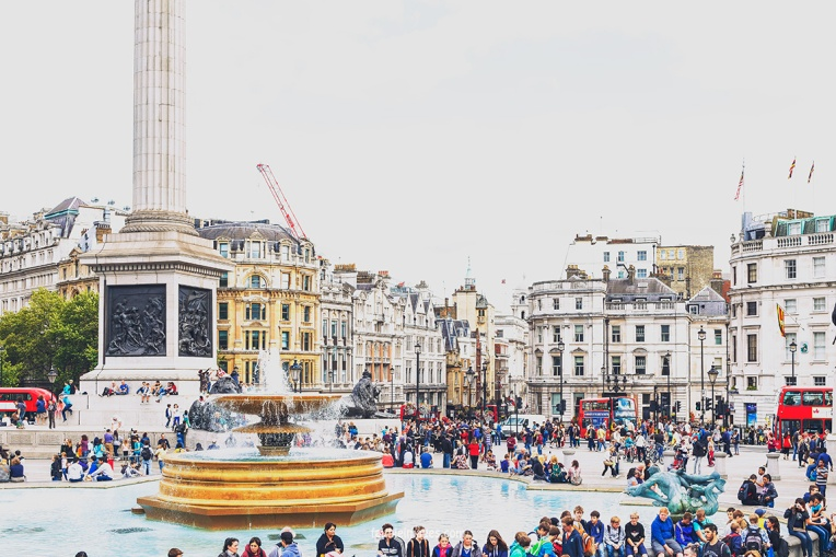 Trafalgar Square National Gallery by Faithieimages 08