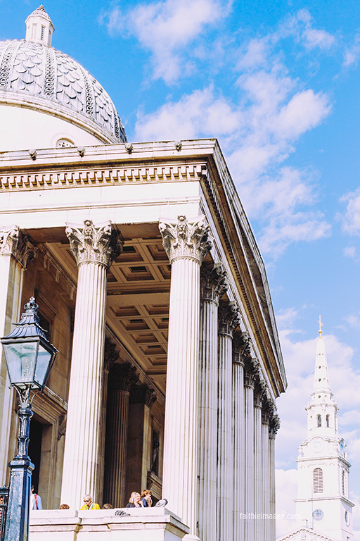 Trafalgar Square National Gallery by Faithieimages 10