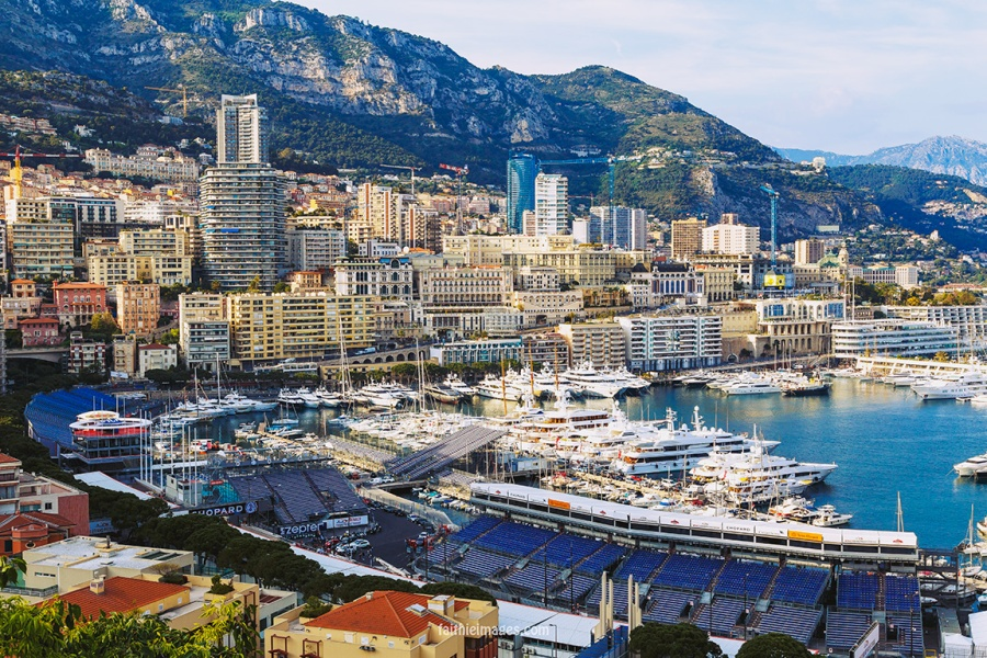Faithieimages - Port Hercule à Monaco