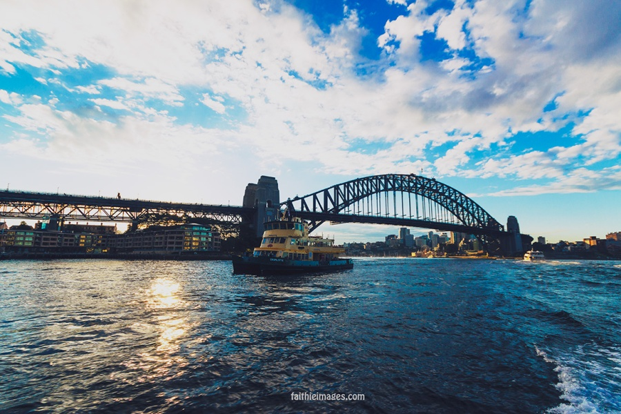 Faithieimages - Ferry boat on Sydney Harbour 010