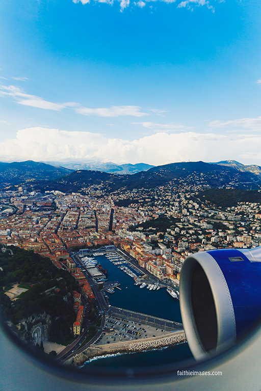 Faithieimages - aerial views Nice airport 040