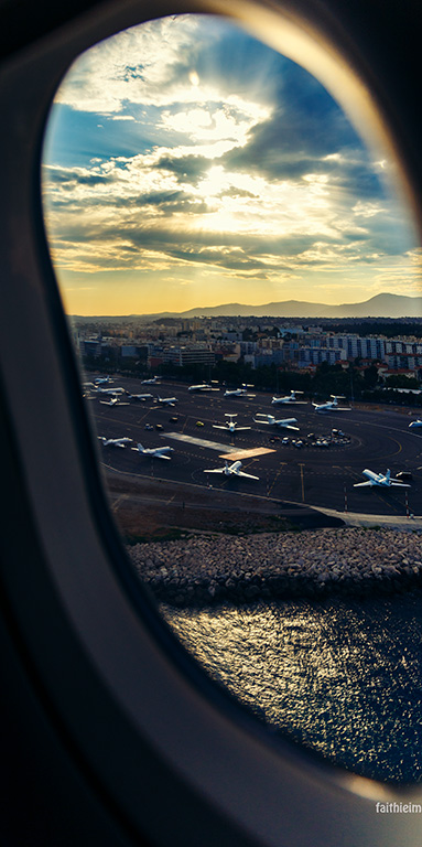 Faithieimages - aerial views Nice airport 044