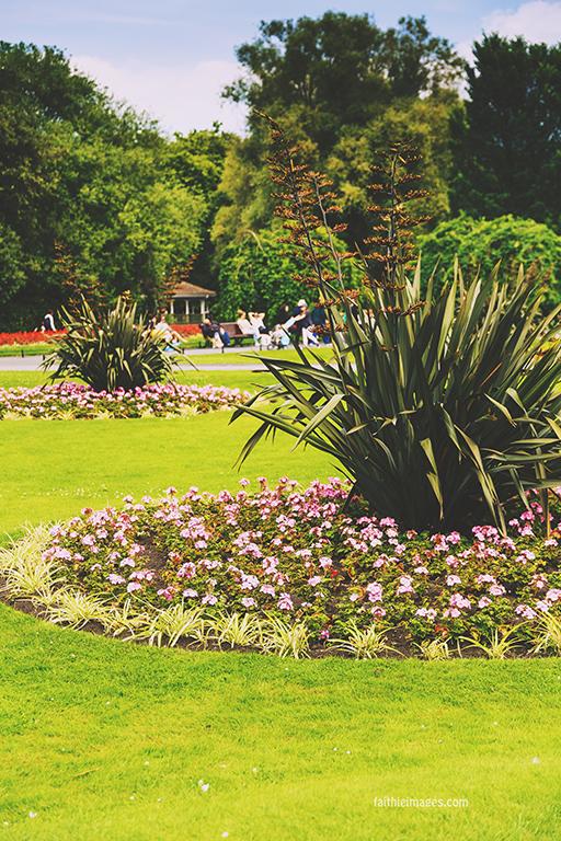 St Stephen's Green Park in Dublin city centre
